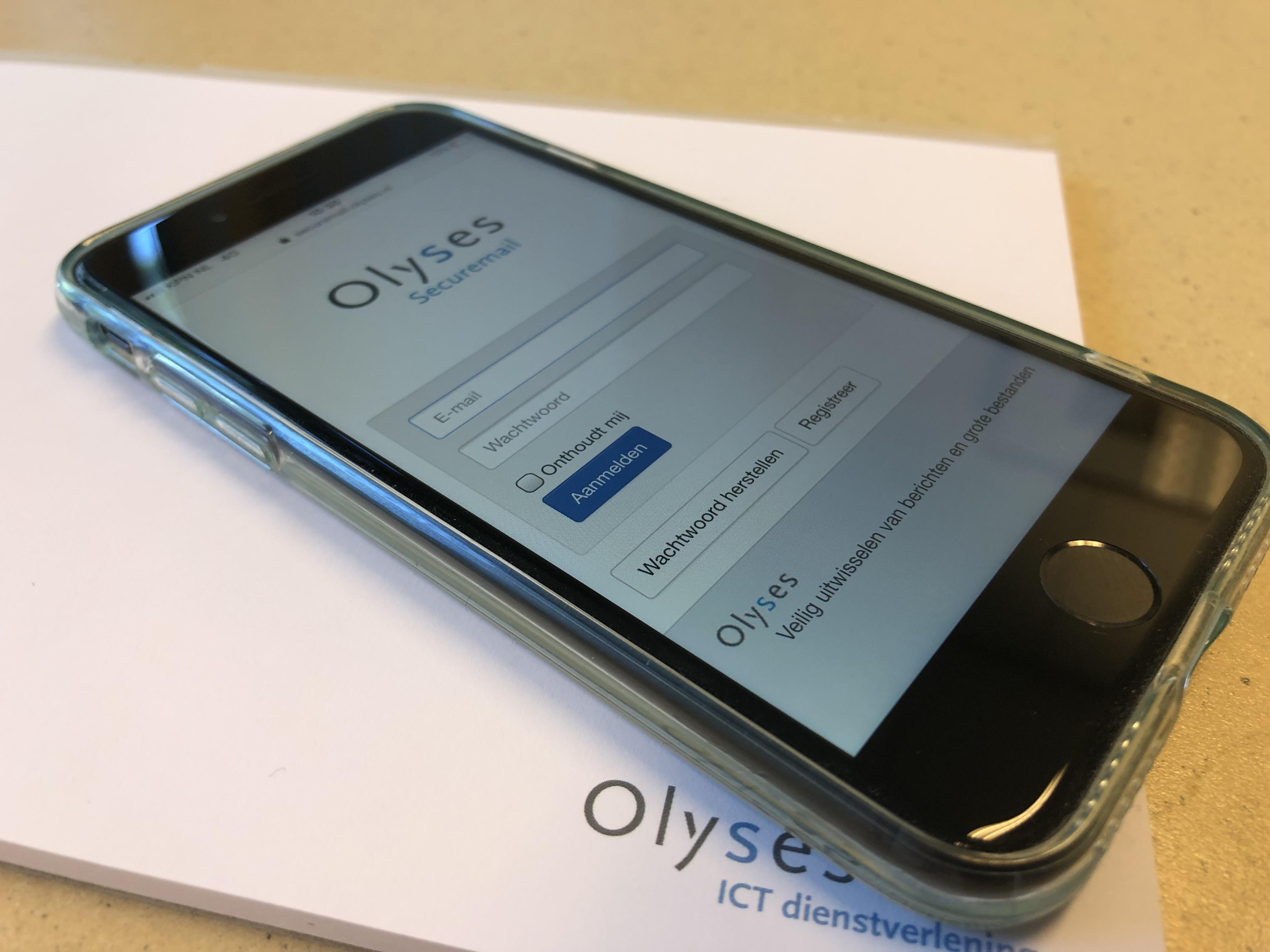 100% veilig e-mailen met Olyses SecureMail